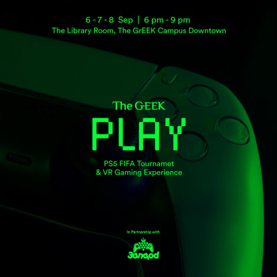 The GrEEK Play | PS5 FIFA Tournament & VR Gaming Experience