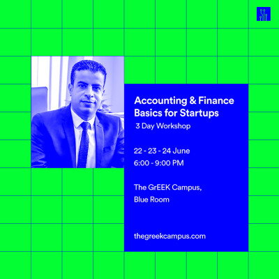 Accounting & Finance Basics for Startups | 3-Day Workshop