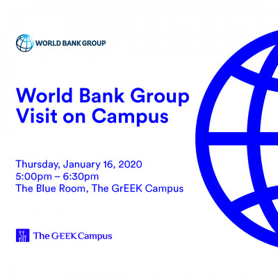 World Bank Group Visit on Campus