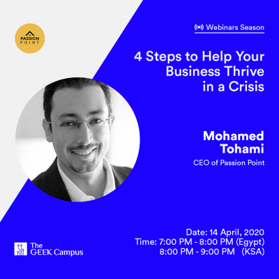 Webinar: 4 Steps To Help Your Business Thrive In A Crisis
