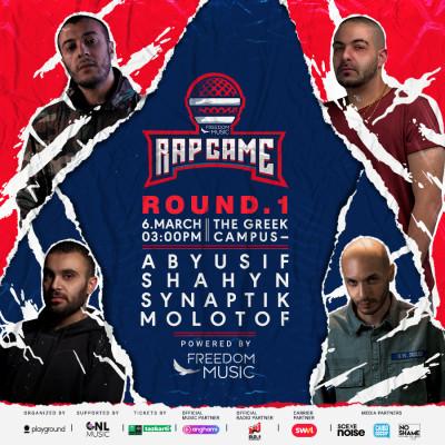 FM Rap Game | Round One w/ Abyusif - Shahyn - Synaptik - Molotof